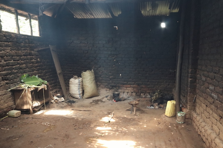 5. The fire in the kitchen Down at Kakunyu School