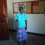 Mary Kabiito at Kakunyu School, Uganda