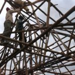 Roof trusses Kakunyu School physio block